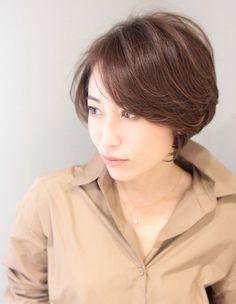 大人かっこいいくびれショート(SG-317)   ヘアカタログ・髪型・ヘアスタイル AFLOAT(アフロート)表参道・銀座・名古屋の美容室・美容院