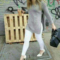 Zara Sweaters - Zara side slit sweater 2