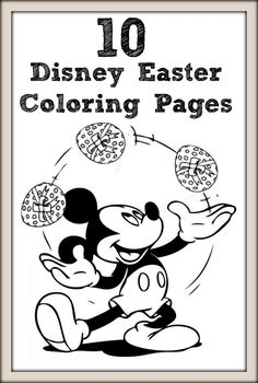 Top 10 Disney Easter Coloring Pages For Your Toddler