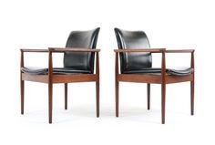 Finn Juhl Diplomat Chairs by Backhouse - Mr. Bigglesworthy Designer Vintage Furniture Gallery