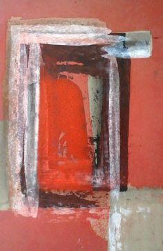 gate / oil,pedrage,cardboard