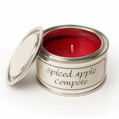 Pintail Candle Small Test Pot Tin Spiced Apple Compote - Sands Gifts http://www.sandsgifts.co.uk/pintail-candle-small-test-pot-tin-spiced-apple-compote.ir