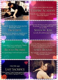 Va awesomeness: first and last lines of each book