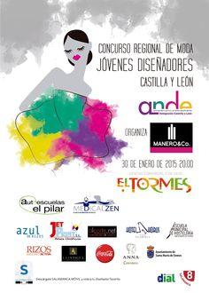 Concurso Jóvenes Diseñadores de Castilla y León · Centro Comercial El Tormes · Viernes 30 de enero