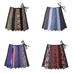 NECKTIE SKIRT   Vintage Tie Skirt   UncommonGoods
