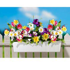 """3 kytice do truhlíku """"Jarní květy""""   Magnet 3Pagen #magnet3pagen #magnet3pagen_cz #magnet3pagencz #3pagen #flowers #dekoration"""