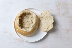 Romige tomatensoep in een broodje - Lekker en Simpel Grains, Food And Drink, Rice, Om, Seeds, Laughter, Jim Rice, Korn