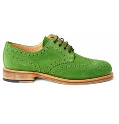 VIEW FULL SIZE IMAGE  OLIVER SPENCER    COUNTRY SUEDE WINGTIP BROGUES  €380.75