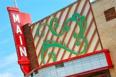 Main Cinema, Nacogdoches, Texas by Steve Snodgrass, via Flickr