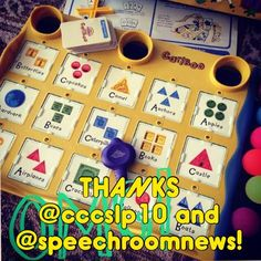 Thank you to @cccslp10 and @speechroom news! This is a FANTASTIC game to use in speech therapy. Here is the start of a great blog post by Jenna Rayburn... I've been using this game for seven years and it's still going strong! Cariboo was a cranium game. It is no longer made. I see it at Goodwill frequently. If you start looking you'll be able to pick up a version for cheap- - click on pin for more! - Like our instagram posts? Please follow us there at instagram.com/pediastaff