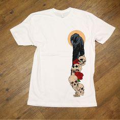 03fec4dbf09aa9 Crow And Skulls T Shirts  skate  skateboard  skateboarding  skateart   classic