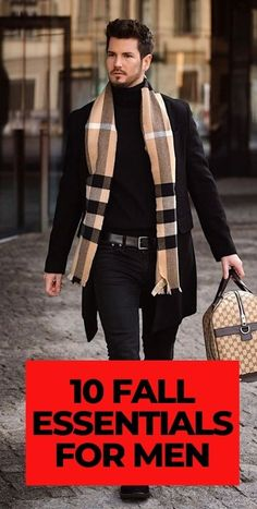 10 Fall Essentials for Men 2020 Mens Fashion Blog, Latest Mens Fashion, Men's Fashion, Fashion Tips, Fashion Trends, Mens Style Guide, Men's Style, Style Guides, Autumn Fashion