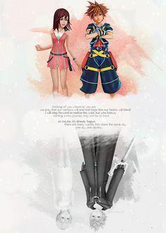 Kingdom Hearts | Namine | Kairi | Sora | Roxas  Edited by SeaSaltKisses on tumblr.com