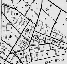 [1840.4.13]: WARD MAP. Morning herald. (New York [N.Y.] American Party, Five Points, Red Team, Genealogy Research, Equal Rights, Manhattan, Purple, Blue, Roots