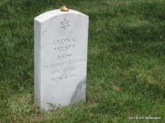 My Tombstone Collection: Tombstone Tuesday - Telsey, Leon G,, Rear Admiral, US Coast Guard #genealogy