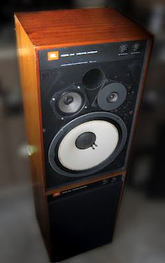 JBL Control Monitors. Click on photo for more pics and story.