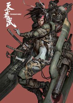 Kamikaze por titiritero Lee | Sci-Fi | 2D | CGSociety