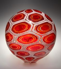 Art Glass Vessel ~David Patchen