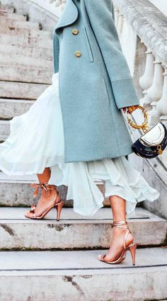 Street Style, Chloe, PFW, Tommy Ton, Paris Fashion Week. Chloe Nile Handbag