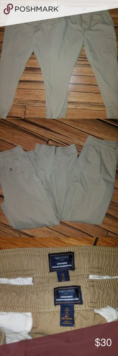 2 PRS-Mens Gap Joggers 2 Pairs of Mens Khaki Joggers size Large  Tan coloring  Excellent condition  ♡♡♡ Please visit my closet for more great clothing and accessories by this designer and others. All items are inspected for damage/staining before listing and shipping♡♡ and all items are shipped swiftly and with care.  I'm here to answer any question you may have! I'm a Posh Ambassador and Top Rated Seller ♡♡♡  I ♡ Offers and Bundle Deals!   Thanks for looking... ~Bluebirds Closet GAP Pants…