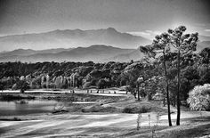 Players tee off during the fifth round of the European Tour qualifying school final stage at the PGA Catalunya Resort Stuart Franklin/Getty Images