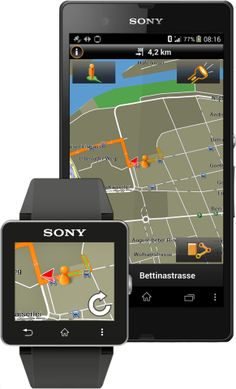 Garmin Xperia Edition App's SmartWatch 2 Extension Brings Navigation To Your Wrist