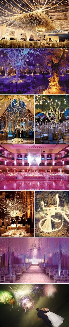 Lighting is key! High Drama David Tutera is known for his incredibly impressive décor and luxe designs on his hit series, My Fair Wedding. Many of you filled your boards with equally-stunning ideas that are sure to drop some jaws. Wedding Themes, Wedding Events, Wedding Styles, Wedding Reception, Our Wedding, Dream Wedding, Wedding Decorations, Trendy Wedding, Wedding Pins