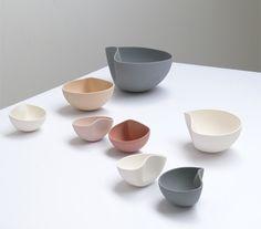 Ilona Van den Bergh's Moon bowls are deformed after casting