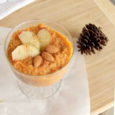 Dairy-Free Fluffy Carrot Pudding (Healthy, Vegan, Gluten-Free)