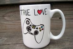 Xbox Love Funny Coffee Mug MMMug / Tea Cup. $14.00, via Etsy.