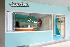 2011 Colour In Commercial Design  Twisted Frozen Yoghurt