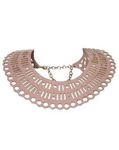 collier col géométrique de topshop