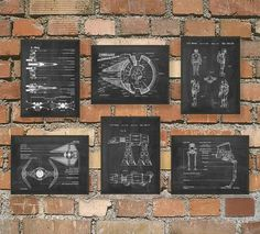 The Ultimate Star Wars Fan Patent Wall Art Poster Set by QuantumPrints on Etsy https://www.etsy.com/listing/213017490/the-ultimate-star-wars-fan-patent-wall