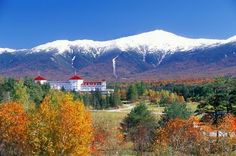Mt Washington New Hampshire Definitely want to visit here