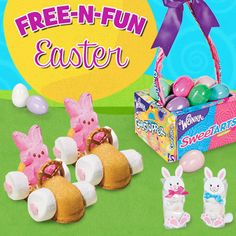 Free-N-Fun Easter: Enjoy these free and fun Easter crafts, creative Easter recipes, Easter coloring pages, and Easter Basket Ideas from Oriental Trading!
