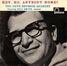THE DAVE BRUBECK QUARTET Hey, Ho, Anybody Home? UK FONTANA RECORDS 7' VINYL EP