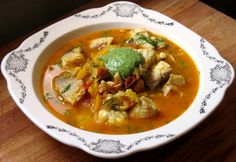 Tilapia Soup (Fish Soup for One)