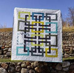 Linked – A Wedding Quilt for Grant and Robyn | peace.love.quilt