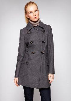 TOMMY HILFIGER Amy Double Toggle Melton Coat
