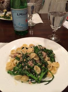 """This Orechiette with Sausage and Broccoli Rabe meal is so easy to make and screams """"I am trying really hard to eat healthy.""""  Give it a try!"""