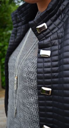 Lorena Sarbu coat £115, Culture Jumper £60,  Necklaces £30 and (Pendent) £24,