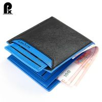 mens wallet leather pu genuine luxury brand men wallets 5 colors Solid Short money clip male purses cuzdan carteira masculina PX