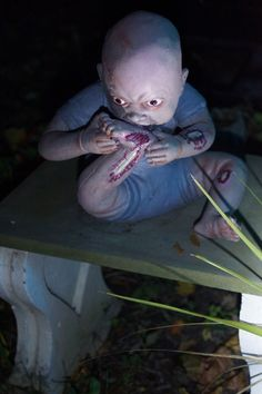 zombie baby from spirit halloween 2015 kingston ave fright fest poughkeepsie ny