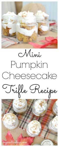 Simple Mini Pumpkin Cheesecake Trifle Recipe