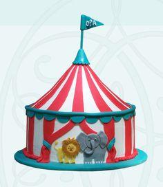 custom circus cake | couture cakes | atlanta, georgia