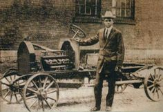 """The C.R. Patterson b.1833-d.1910) & Sons Company was a carriage building firm, and the first African American-owned automobile manufacturer 1833   """"In 1902, there was one car to 65,000 people and by 1909 there was one vehicle for every 800 people and with those kinds of figures … I believe it's time for us to build a Patterson horseless carriage"""""""