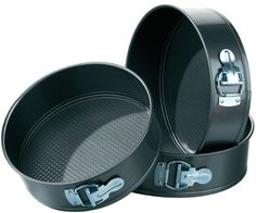 NEW SET OF 3 NON STICK SPRING FORM CAKE TIN SET Premier Houserwares by Home Discount   £6.65