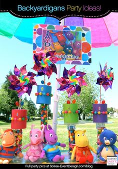 Backyardigans Party Decoration Ideas from Soiree-EventDesign.com