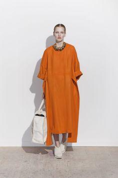 Orange caftan