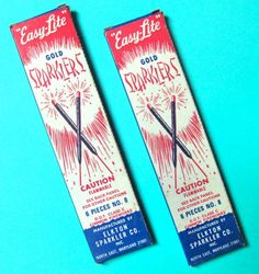 1950's Atomic Ranch House: Vintage July Fourth Decorations